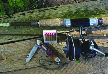 As a kid, columnist Dennis Smith only needed these essentials for a night of fishing.