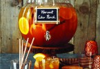 Win this glass pumpkin beverage jar!