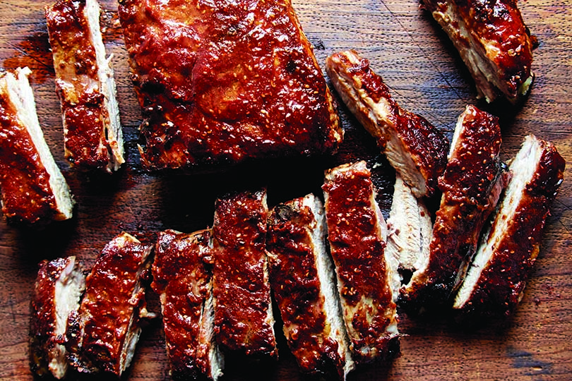 Ribs with Homemade Raspberry Chipotle Barbecue Sauce | Colorado ...