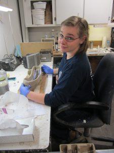 "Catrina Callahan ""flips the mold"" of a Pterosaur."