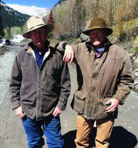 KJ Johnson and Tom McLeod of SMPA helped create period scenes.