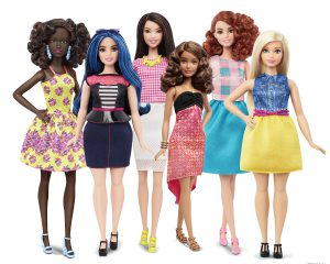 Barbie 2016 Fashionista collection