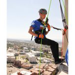 Cancer League of Colorado Rappelling Fundraiser