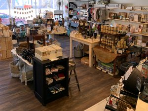 Inside the Moffat Mercantile store