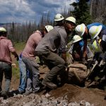 2021 Dig Where You Ride Forest Service Partnership Project